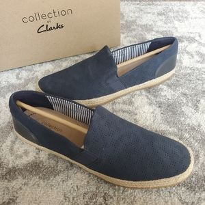 Collection by Clarks Danelly Rae Navy Suede Shoes